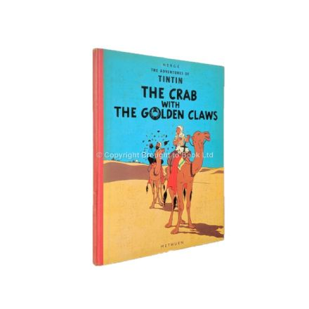The Adventures of Tintin The Crab With The Golden Claws by Hergé First Edition First Impression Meth